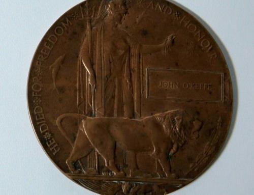 Bronze Next of Kin Memorial Plaque