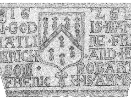 Heraldic Fireplace Keystone – 1626