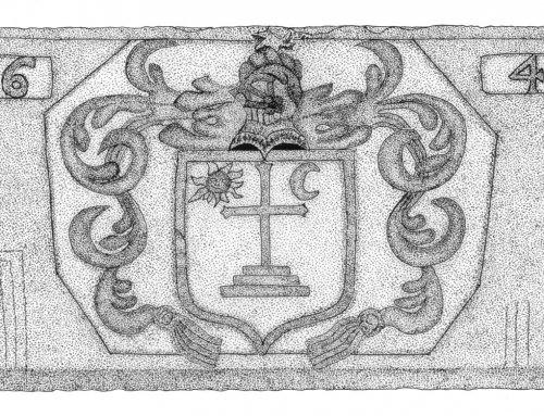 Heraldic Fireplace Keystone – 1641