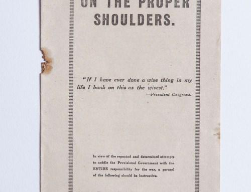 On The Proper Shoulders